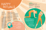 Tesco magazine – Happy Rituals