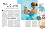 Baby magazine - swimming with your baby